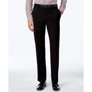 NWOT $80 CALVIN KLEIN black Flat front pants 36x30